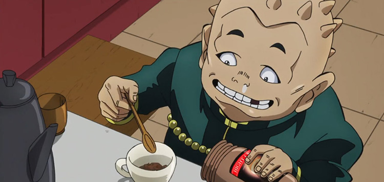 Shigekiyo Yangu in JoJo's Bizarre Adventure: Diamond is Unbreakable