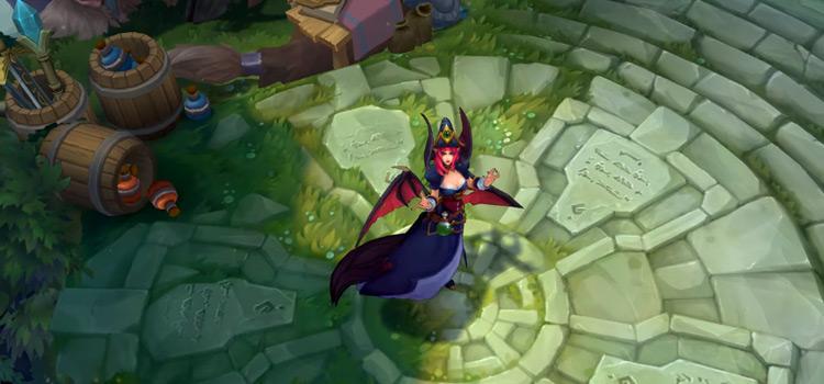 Bewitching Morgana Skin Screenshot from LoL