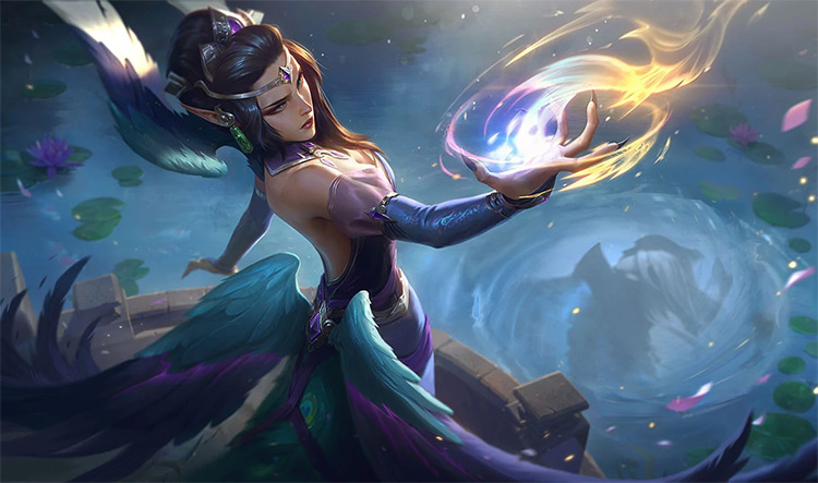 Majestic Empress Morgana Skin Splash