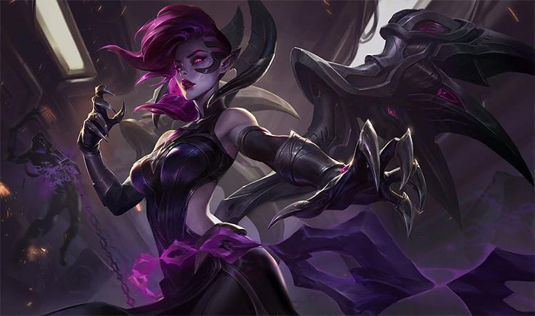 Blade Mistress Morgana Skin Splash Image