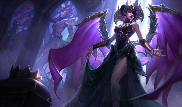 Victorious Morgana skin splash