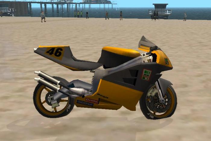 NRG 500 motorcycle san andreas