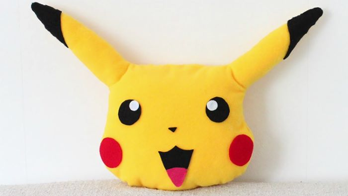 Pikachu design pillow