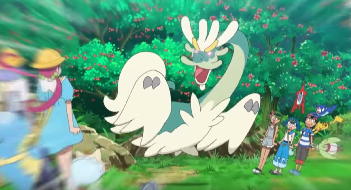 Drampa dragon pokemon anime