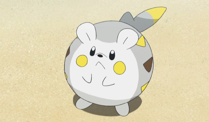 Togedemaru from the anime