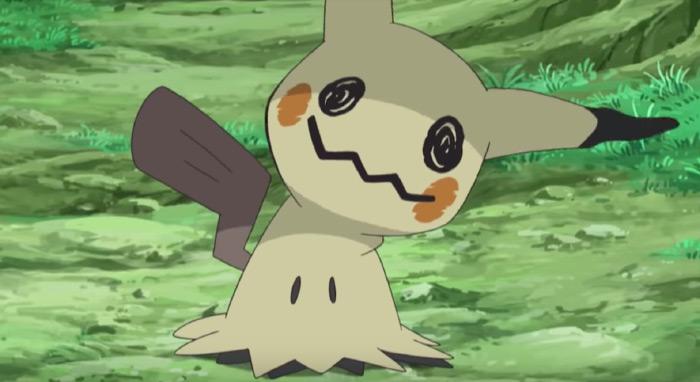 Mimikyu anime creature