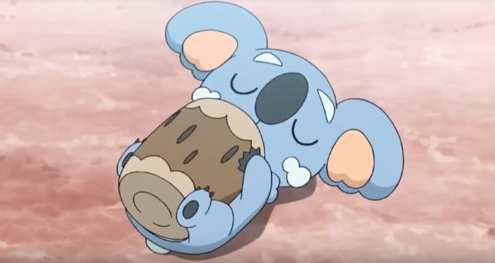 Komala pokemon koala from anime