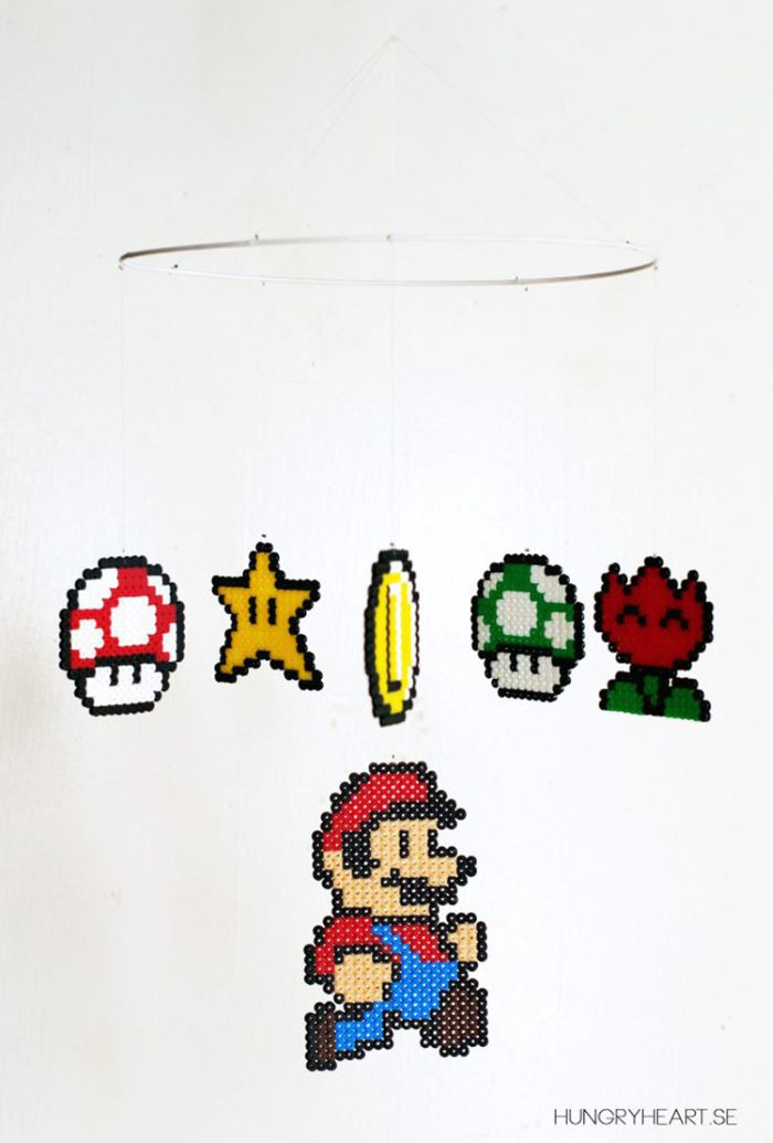 Mario inspired mobile
