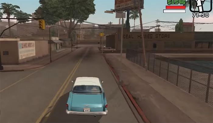 OG Loc San Andreas mission