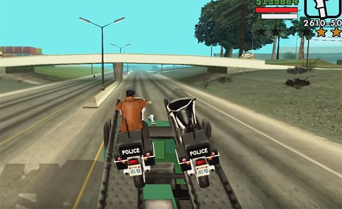 Cop Wheels mission