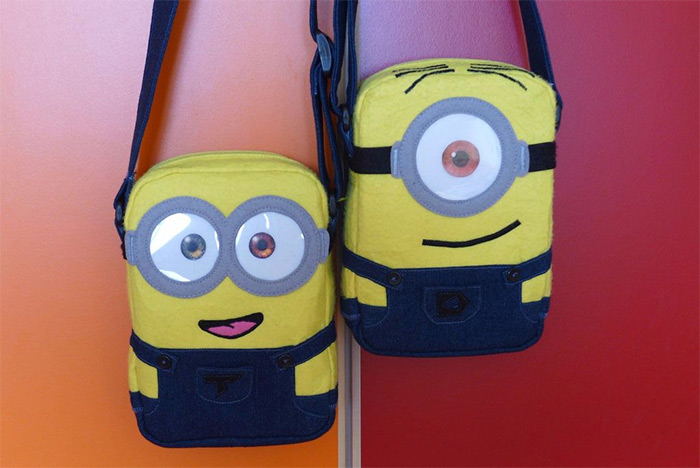 Shoulder bags minion style