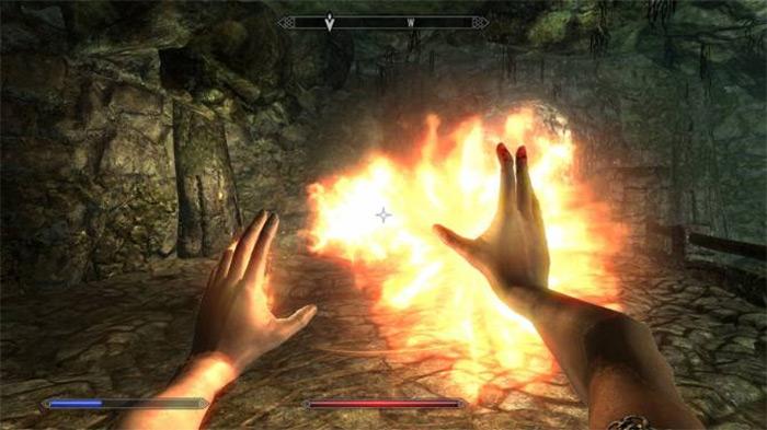 Fireball skyrim spell