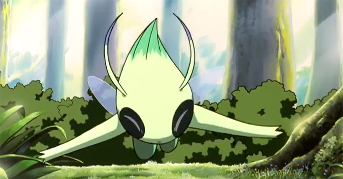 Celebi pokemon movie