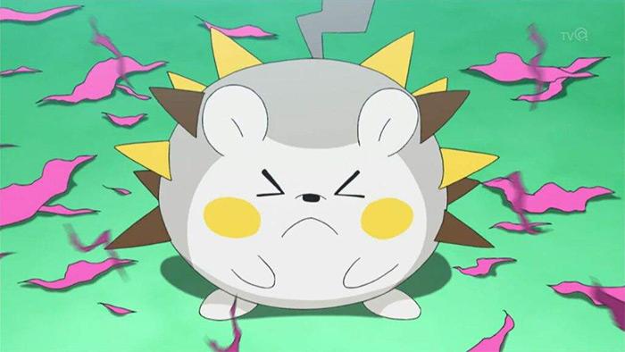 Togedemaru anime