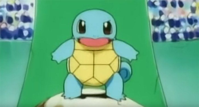 Cute Squirtle from anime