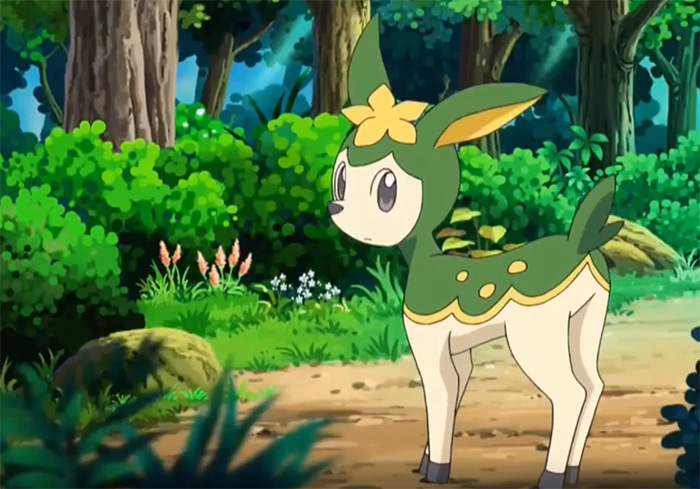 Deerling from the anime