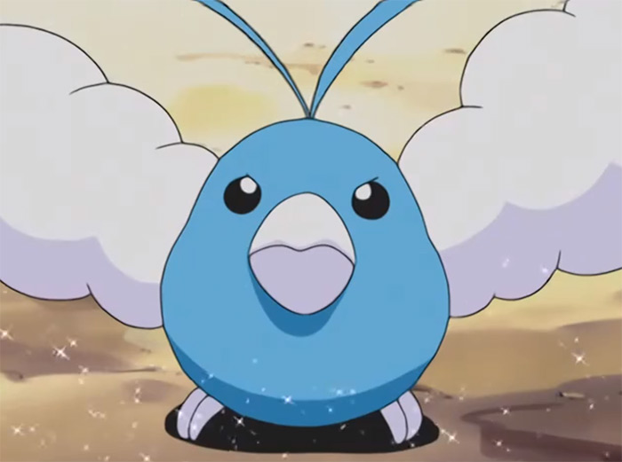 Swanlu cotton swab anime bird