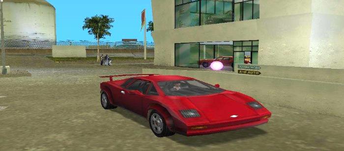 Infernus car in vice city