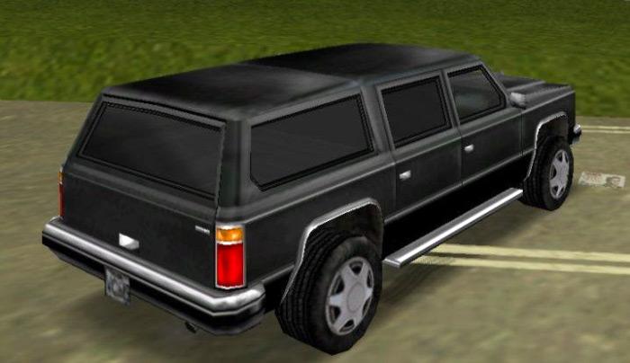 FBI Rancher car vice city