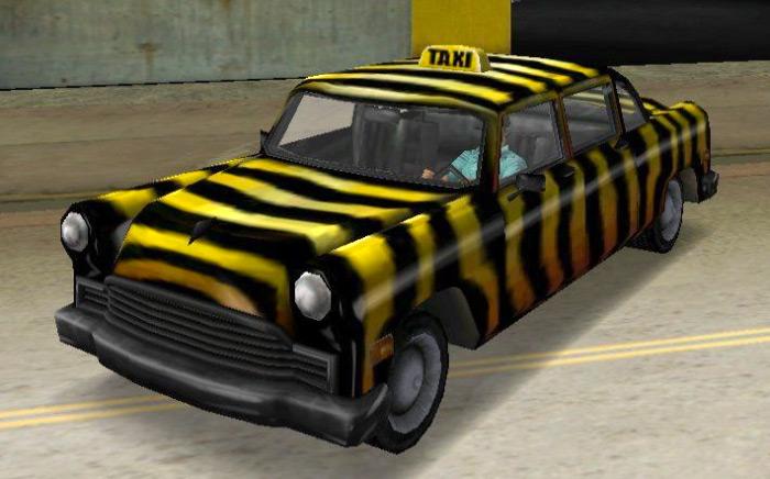 Zebra Cab vice city
