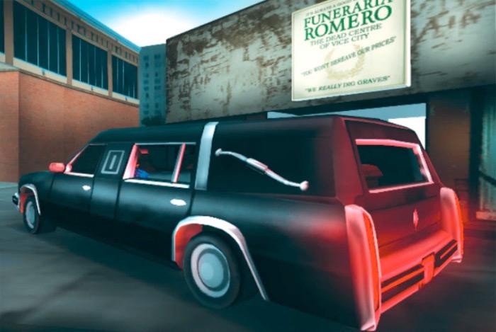 Romero Hearse