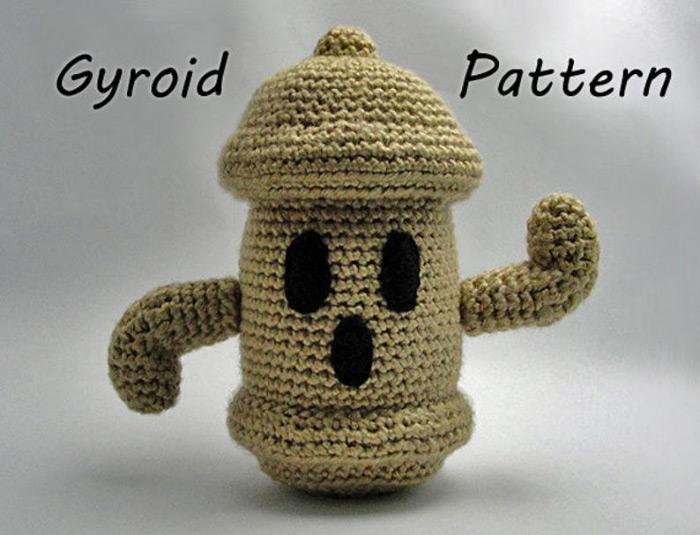 Gyroid pattern diy