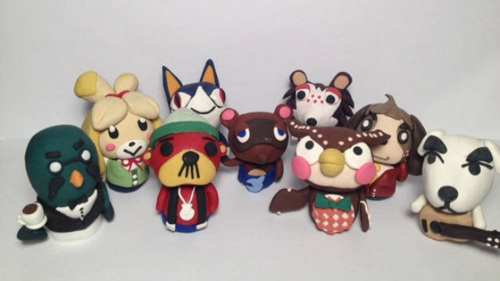 Polymer figure animal crossing