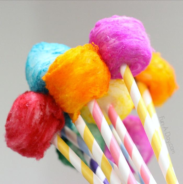 vibrant fluffy diy truffulas
