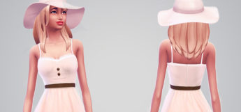 Sims 4 Sweetheart Sundress - Custom Content Preview