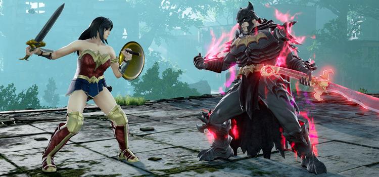 Batman vs Wonder Woman - Soulcalibur 6 modded screenshot