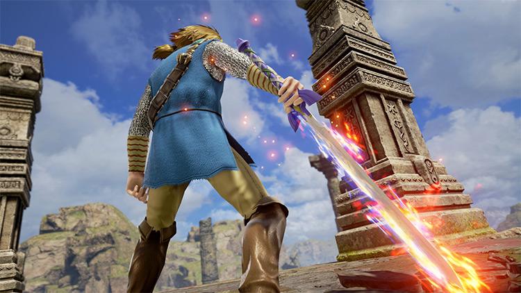 Master Sword LoZ mod for Soulcalibur 6