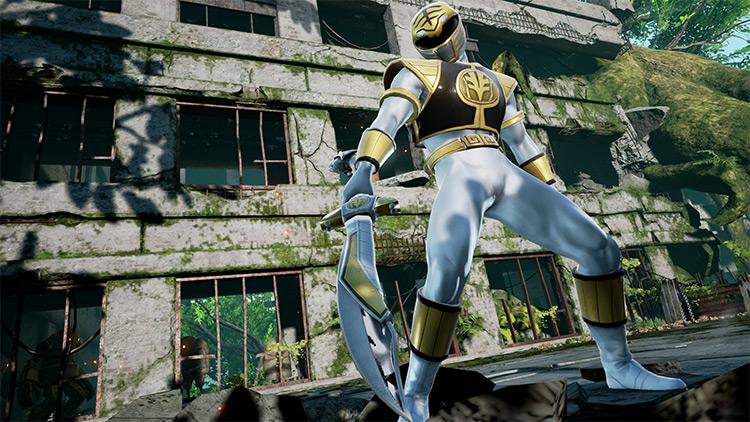 White Ranger chracter mod for Soulcalibur 6