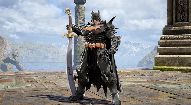Batman battle mod in Soulcalibur 6