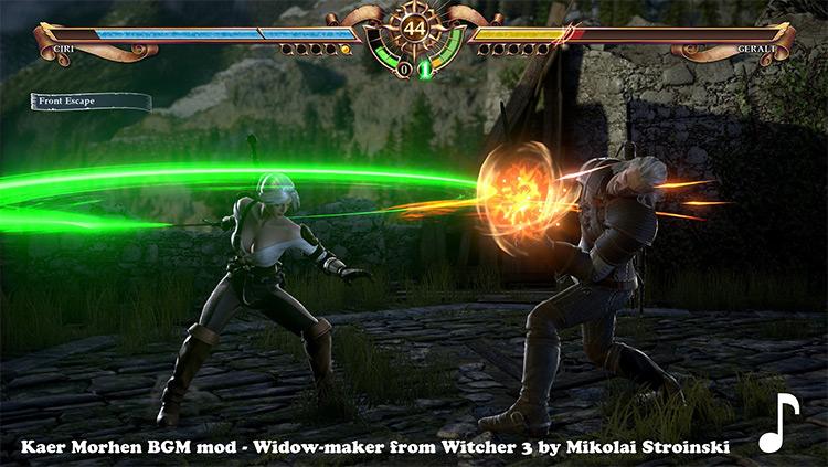 Kaer Morhen BGM in Soulcalibur 6