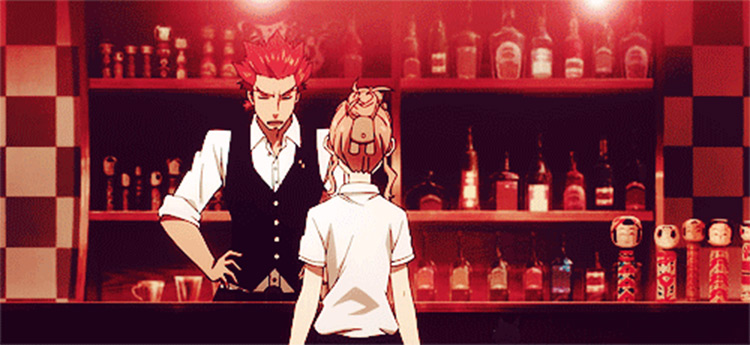 Ginti in Death Parade - Anime Bartender Screenshot