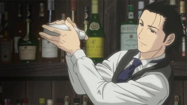 Ryuu Sasakura - Bartender Anime