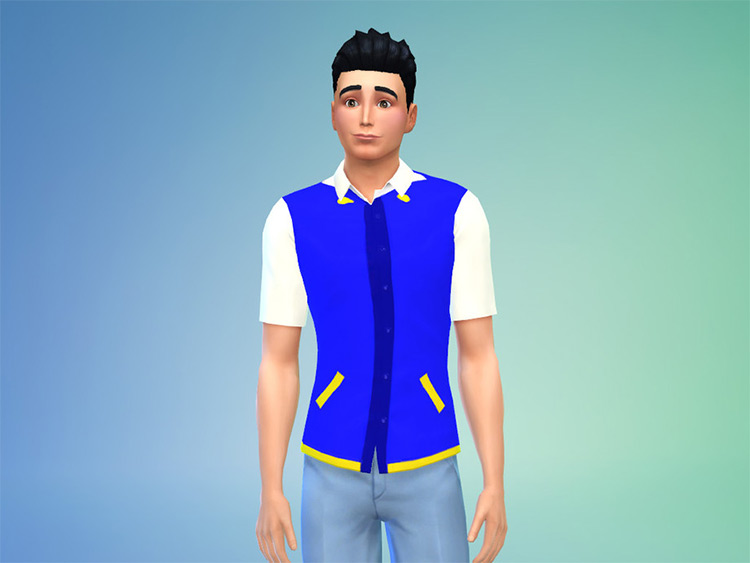 Pokémon Trainer Outfit - Custom Content Sims 4