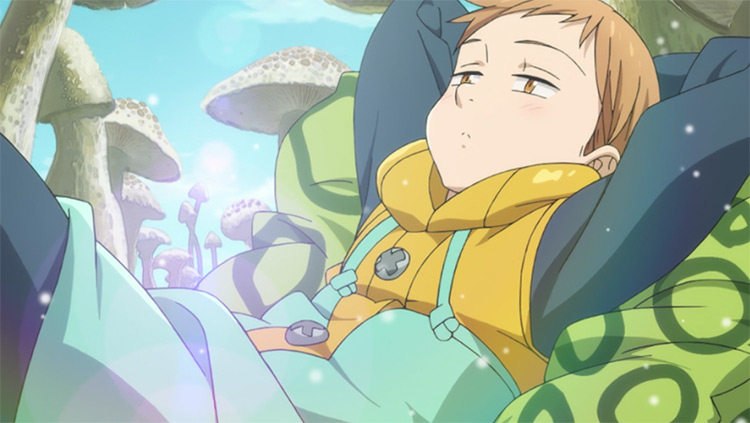King - Seven Deadly Sins Anime Screenshot