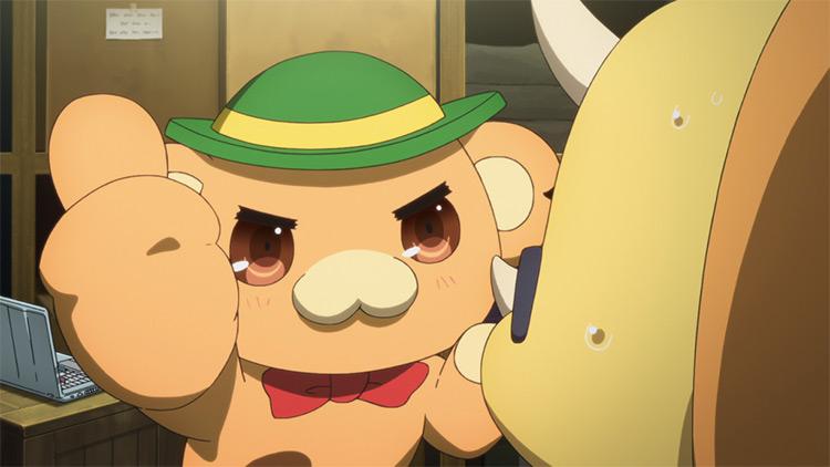 Moffle Character - Amagi Brilliant Park Anime