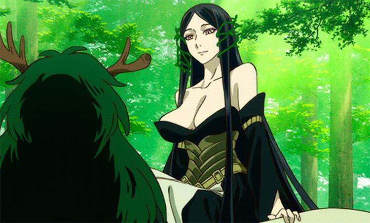 Titania anime fairy character