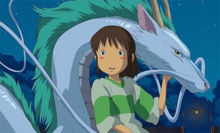 Spirited Away - Anime Screenshot