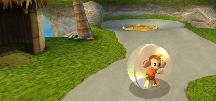 Super Monkey Ball gameplay from 2006