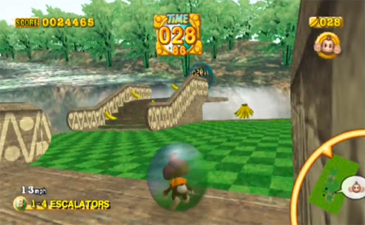 Super Monkey Ball Deluxe on PS2