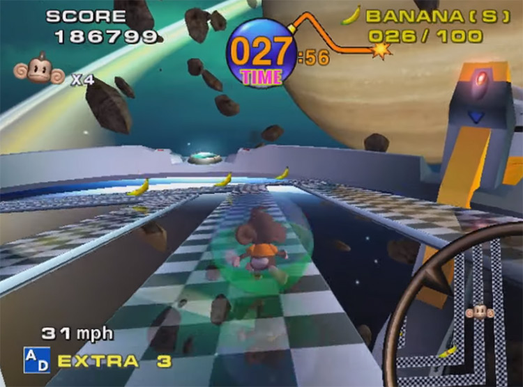 Super Monkey Ball 2001 Nintendo GameCube Screenshot