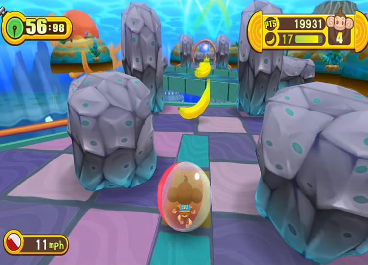 Super Monkey Ball: Step & Roll Wii Screenshot