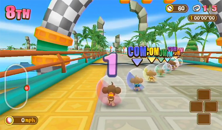 Super Monkey Ball: Banana Blitz Wii Screenshot