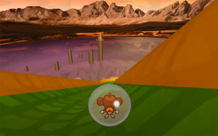 Super Monkey Ball Touch & Roll NDS Screenshot