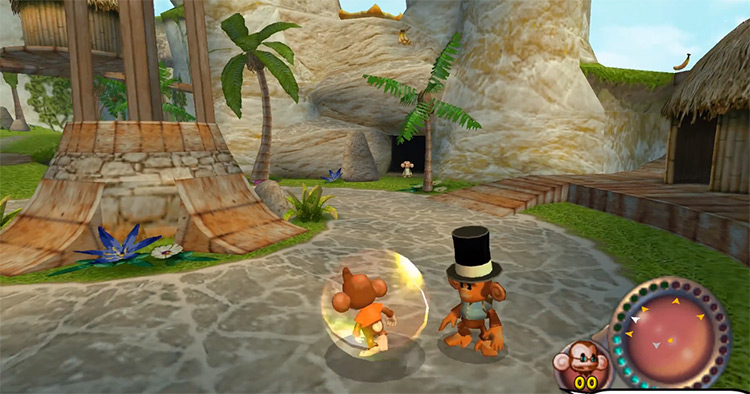Super Monkey Ball Adventure PS2 Screenshot