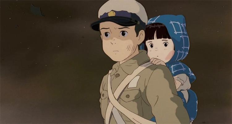 Grave of the Fireflies Anime Screenshot