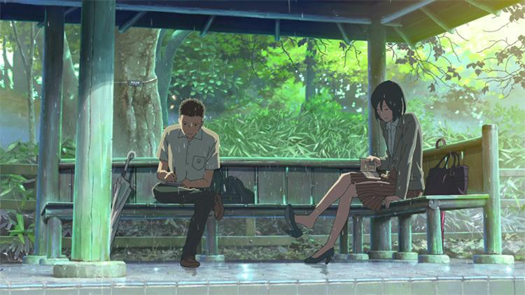 Garden of Words - Anime Screenshot